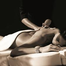 Body to body sensual massage for a woman by massuer